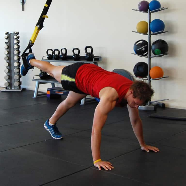 TRX Assisted Incline Press