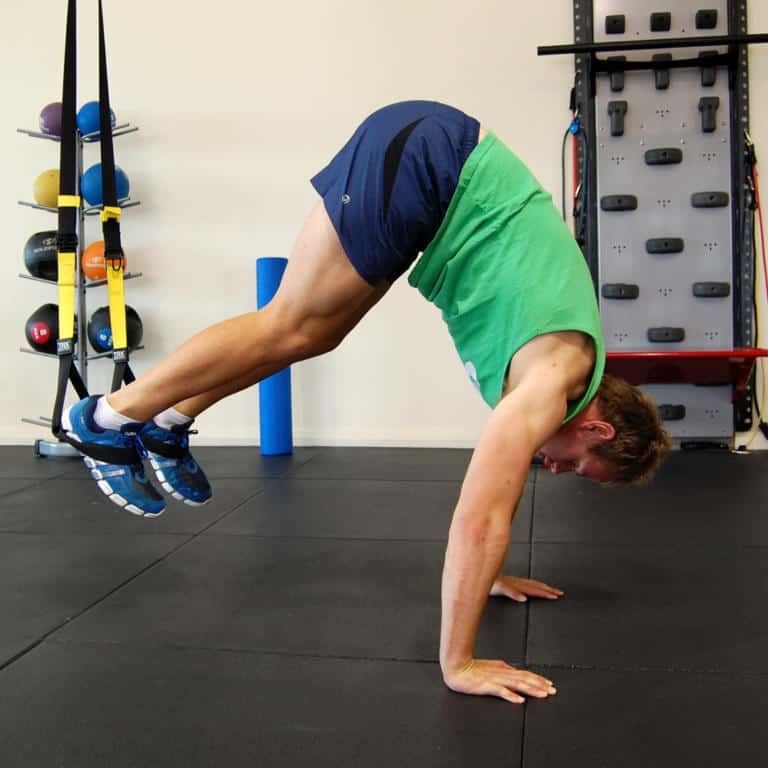 TRX Pike Push Up