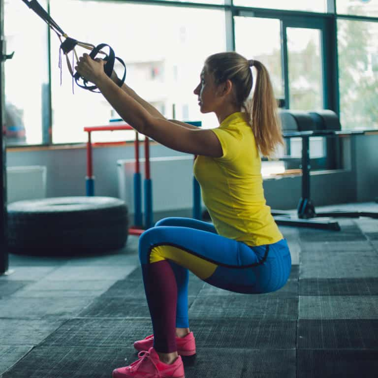 TRX Squat and Lunge